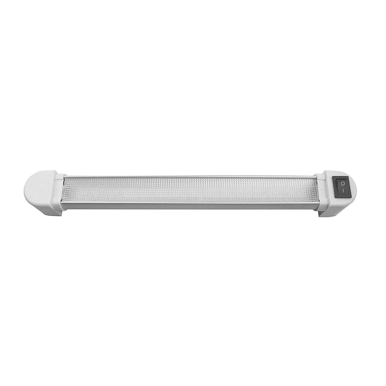 "LED Aluminum Rotating Under Cabinet Light - 24"""